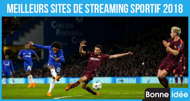 meilleurs sites de streaming sportif 2018