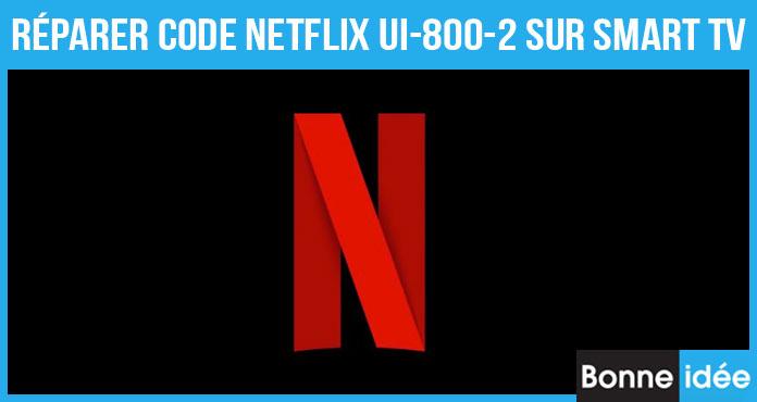 Netflix Code UI-800-2