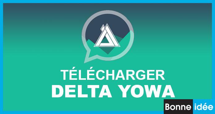 DELTA YoWhatsApp APK 3.3.1 Télécharger Version (2020)