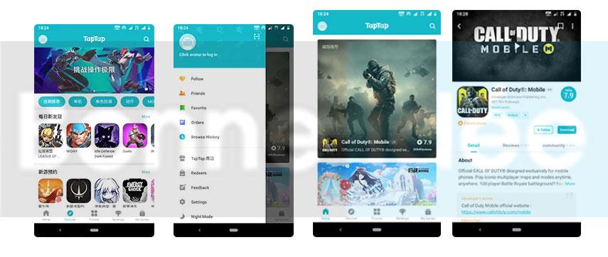 TapTap Screenshots