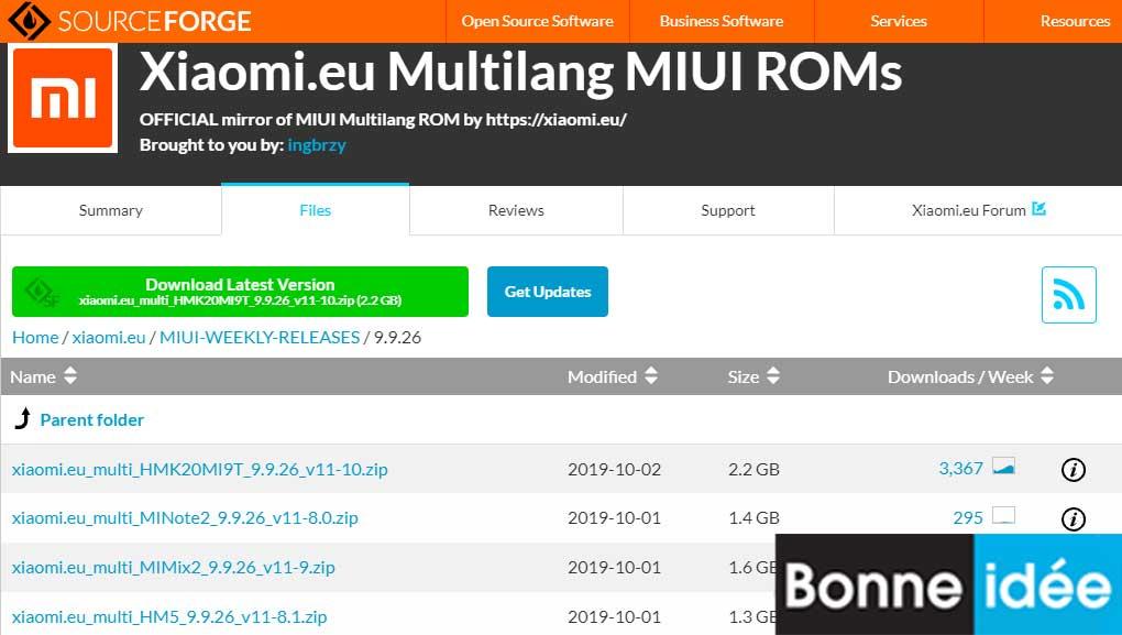Xiaomi EU MIUI WEEKLY RELEASES 2