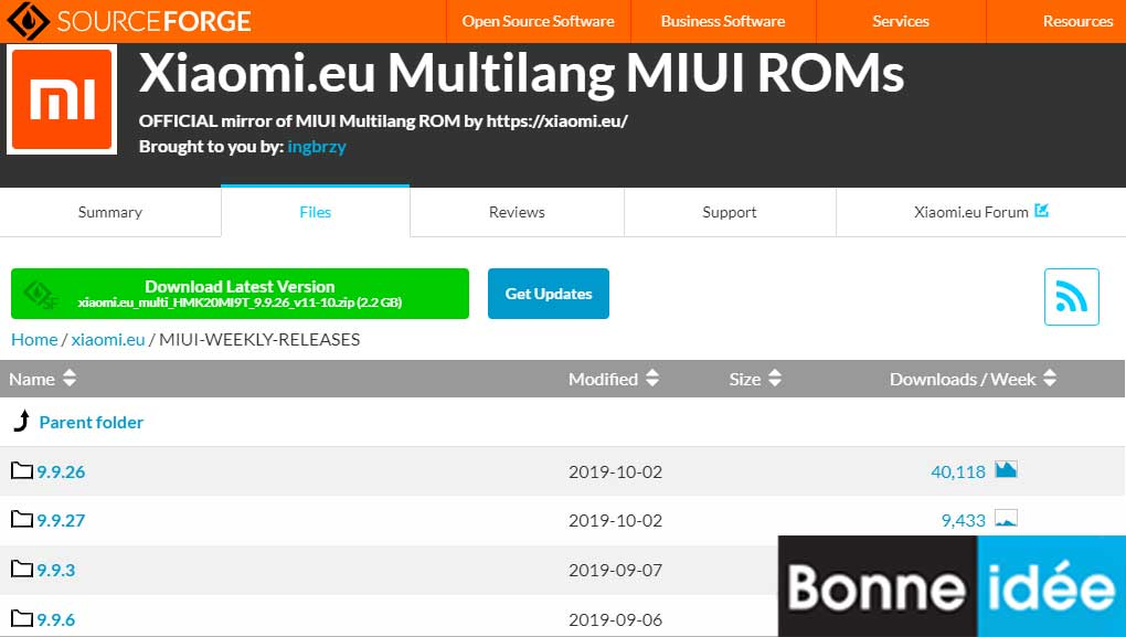Xiaomi EU MIUI WEEKLY RELEASES