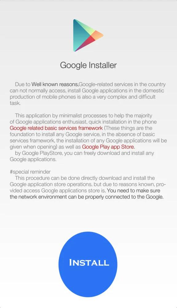 google installer v2 apk miui9
