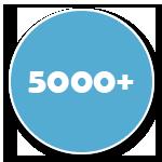 Accès à plus de 5000 Canaux
