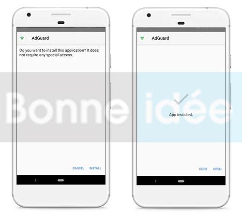 Installer Adguard Premium Apk sur Android