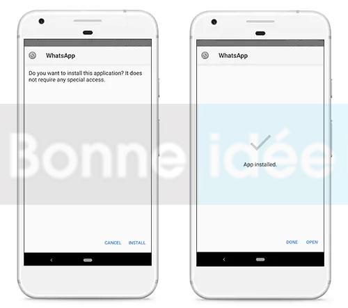 installer ogwhatsapp apk sur android