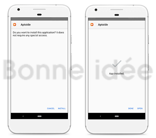 installer aptoide mod apk on android