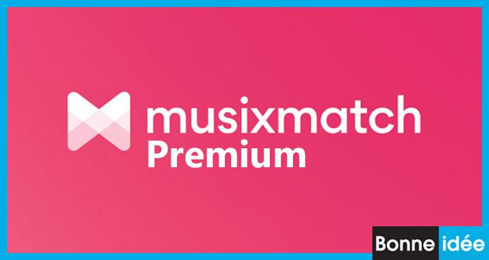 musixmatch premium apk télécharger