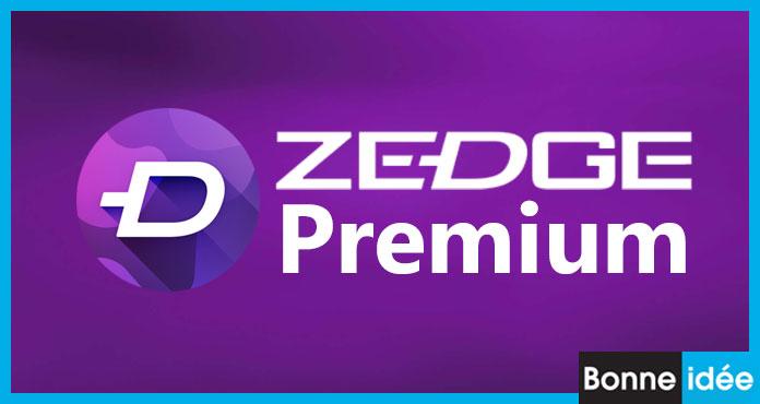 zedge premium apk télécharger dernière version